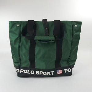 Vintage 90s Polo Sport Ralph Lauren Tote Bag